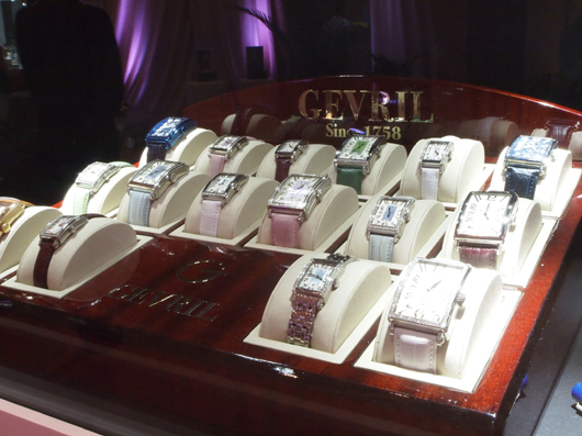 Gevril Watches at Couture 2013